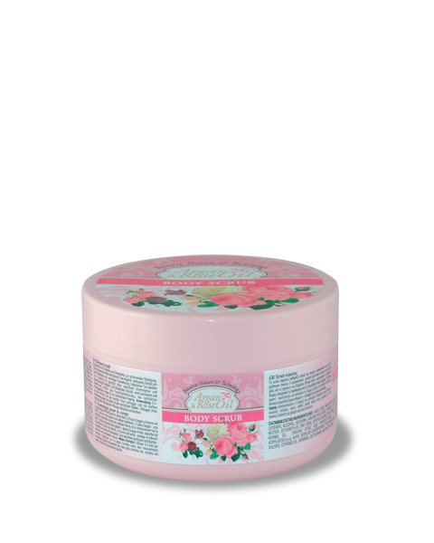 Body Scrub Argan & Rose Oil